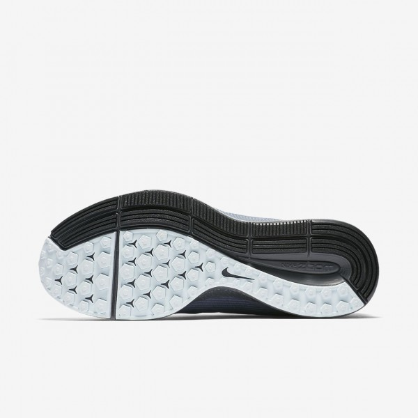 Nike Air Zoom Pegasus 34 Shield Laufschuhe Damen Grau Dunkelblau Dunkelgrau Blau 422-34221