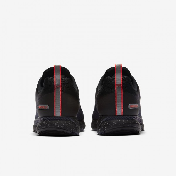 Nike Air Zoom Pegasus 34 Shield Laufschuhe Damen Schwarz Obsidian 797-97932