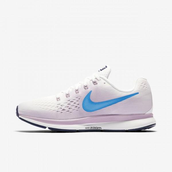 Nike Air Zoom Pegasus 34 Laufschuhe Damen Weiß Ro...