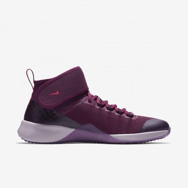 Nike Air Zoom Strong 2 Gem Trainingsschuhe Damen Bordeaux Rot Rosa Weiß 118-95395