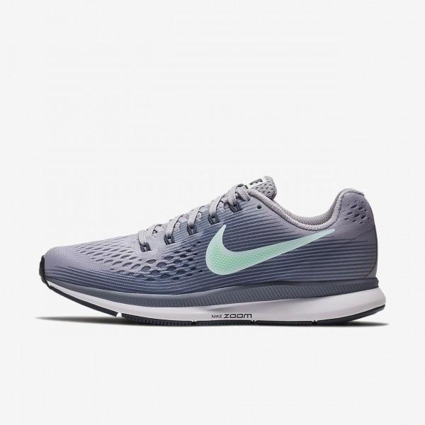 Nike Air Zoom Pegasus 34 Laufschuhe Damen Lila Hel...