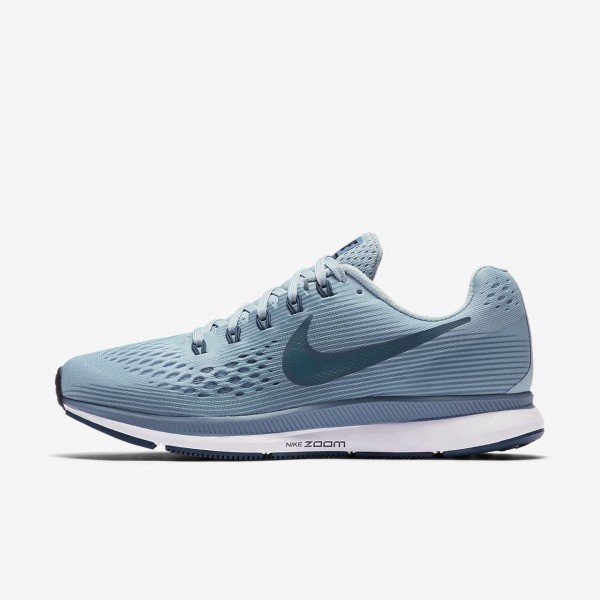 Nike Air Zoom Pegasus 34 Laufschuhe Damen Blau Gr�...