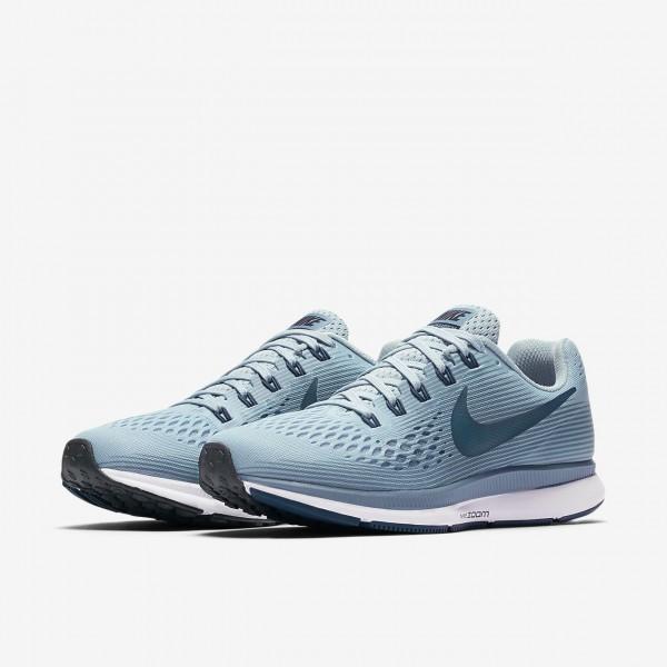 Nike Air Zoom Pegasus 34 Laufschuhe Damen Blau Grün Schwarz 675-62860