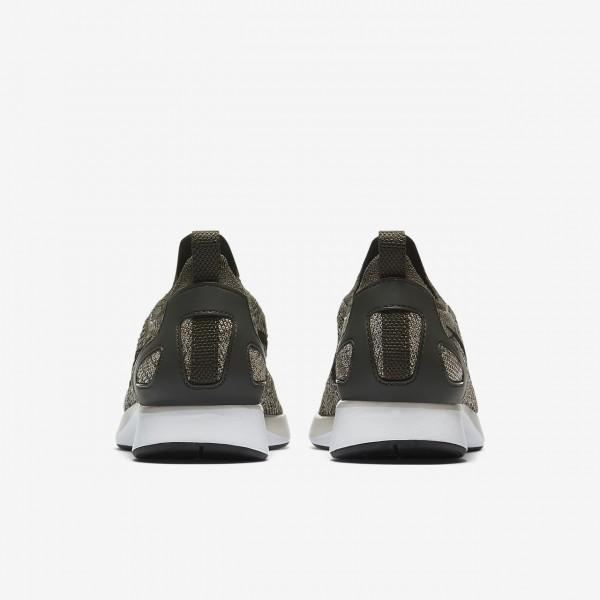 Nike Air Zoom Mariah Flyknit Racer Freizeitschuhe Damen Khaki Weiß 733-95012