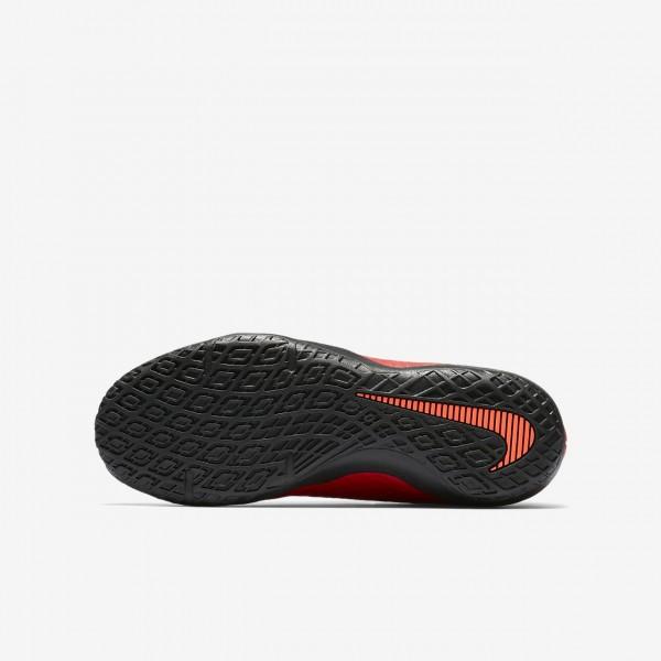 Nike Jr. Hypervenomx Phelon 3 Ic Fußballschuhe Jungen Rot Schwarz 700-39253