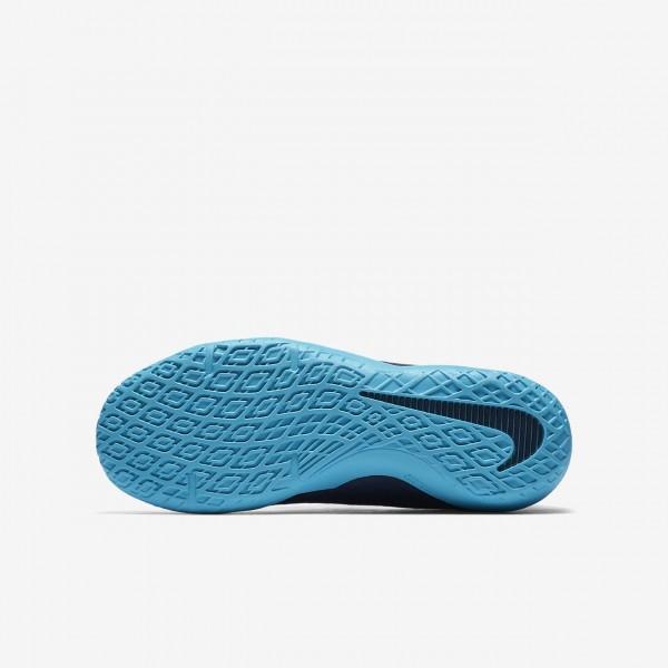Nike Jr. Hypervenomx Phelon 3 Ic Fußballschuhe Jungen Obsidian Blau Weiß 117-79628