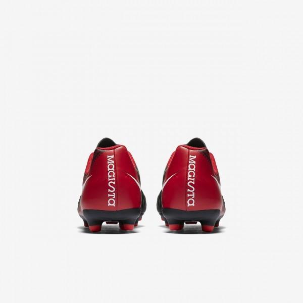 Nike Jr. Magista Ola II Fg Fußballschuhe Jungen Schwarz Rot Weiß 188-96319