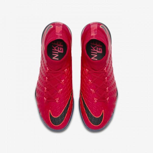 Nike Jr. Hypervenomx Proximo II Dynamic Fit Tf Fußballschuhe Jungen Rot Schwarz 337-54669