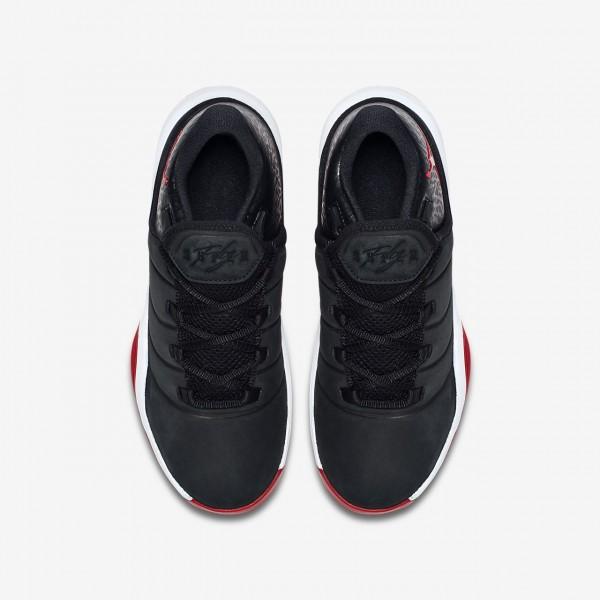 Nike Jordan Superfly 2017 Basketballschuhe Jungen Schwarz Weiß Rot 802-10730