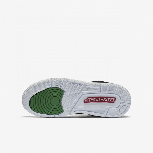 Nike Jordan Spizike Outdoor Schuhe Jungen Schwarz Grün Weiß Rot 822-60127