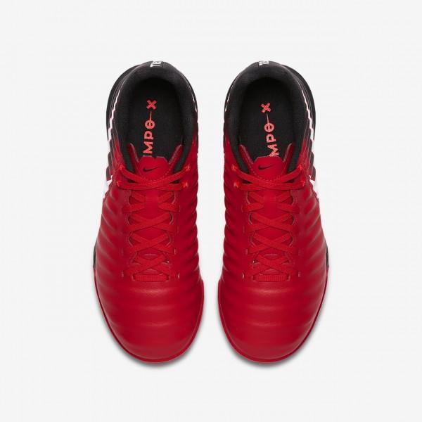 Nike Jr. Tiempox Ligera Iv Ic Fußballschuhe Mädchen Schwarz Rot Weiß 138-10612