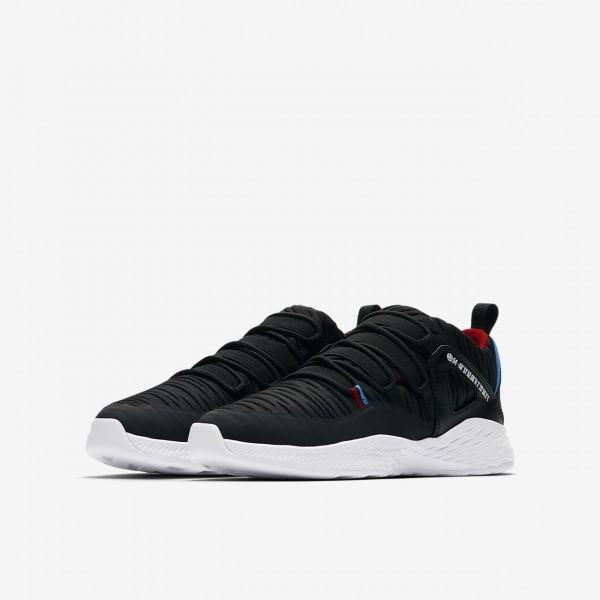 Nike Jordan Formula 23 low Outdoor Schuhe Jungen Schwarz Rot Blau 155-67570