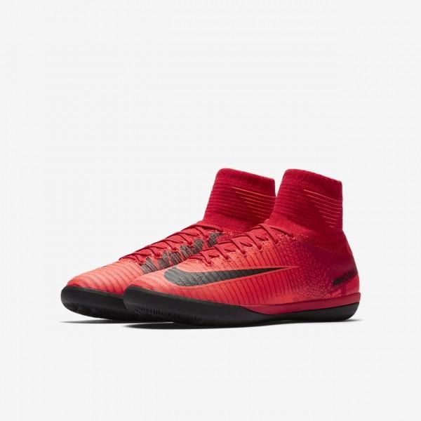 Nike Jr. Mercurialx Proximo II Ic Fußballschuhe Mädchen Rot Schwarz 655-12698
