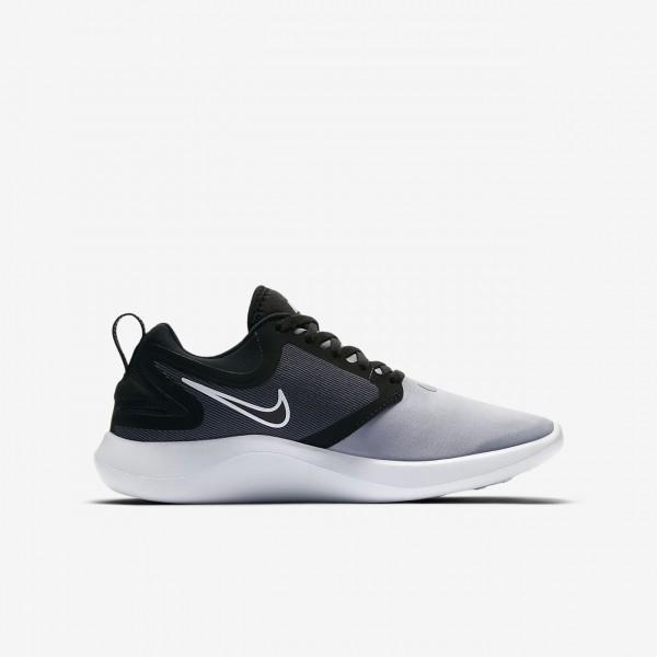 Nike Lunarsolo Laufschuhe Mädchen Schwarz Rot Weiß 359-20795