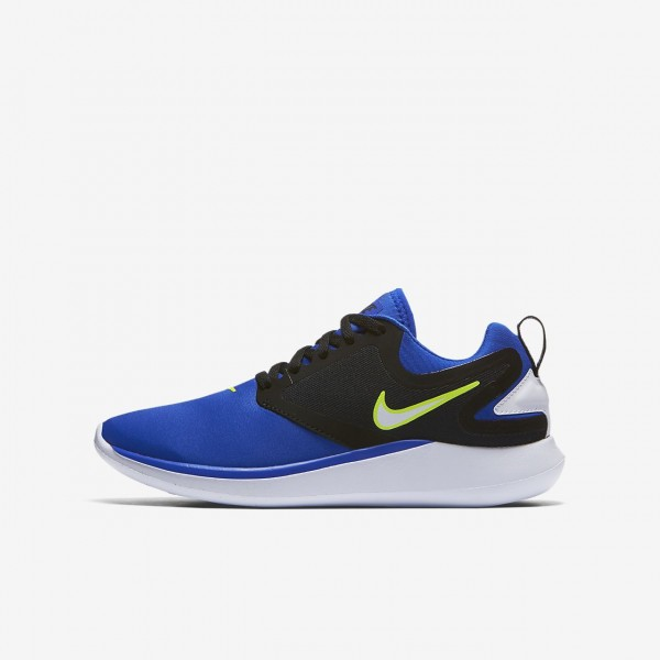 Nike Lunarsolo Laufschuhe Mädchen Blau Schwarz He...