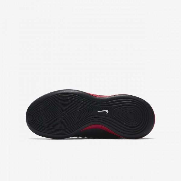 Nike Jr. Magistax Onda II Ic Fußballschuhe Mädchen Schwarz Rot Weiß 594-73465