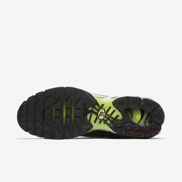 Nike Air Max Plus Se Freizeitschuhe Herren Schwarz Grau Grün 686-41242
