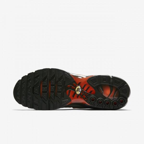 Nike Air Max Plus Se Freizeitschuhe Herren Dunkelolive Schwarz Orange 249-62474