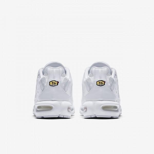 Nike Air Max Plus Freizeitschuhe Herren Weiß 847-16863