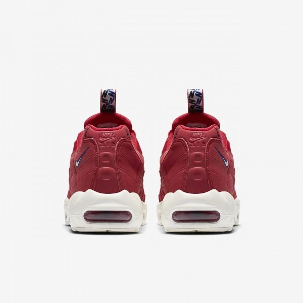 Nike Air Max 95 Freizeitschuhe Herren Rot Blau Weiß 131-40653