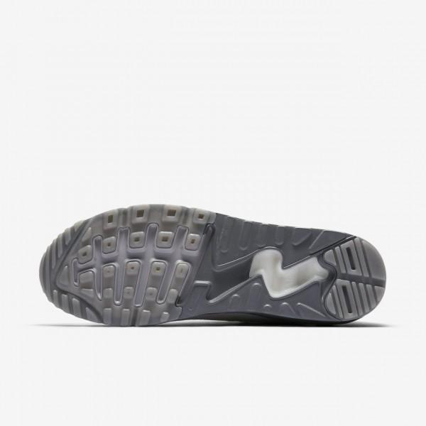 Nike Air Max 90 Ultra 2.0 Flyknit Freizeitschuhe Herren Weiß 188-67716