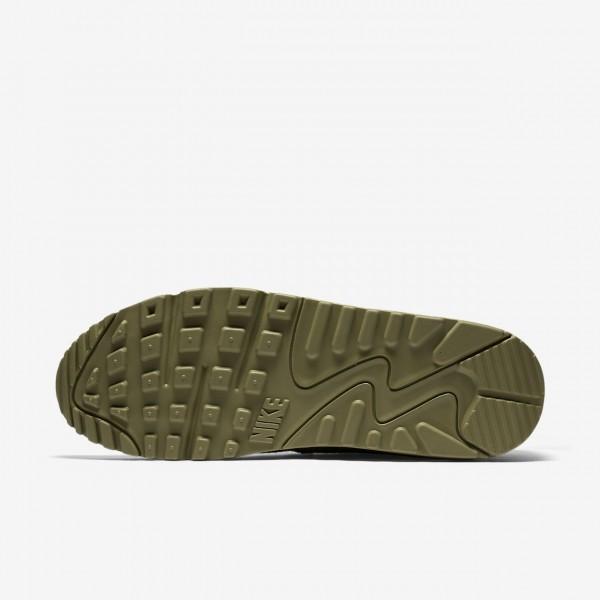 Nike Air Max 90 Premium Freizeitschuhe Herren Olive 234-36029