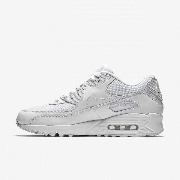 Nike Air Max 90 Essential Freizeitschuhe Herren Weiß 514-38783