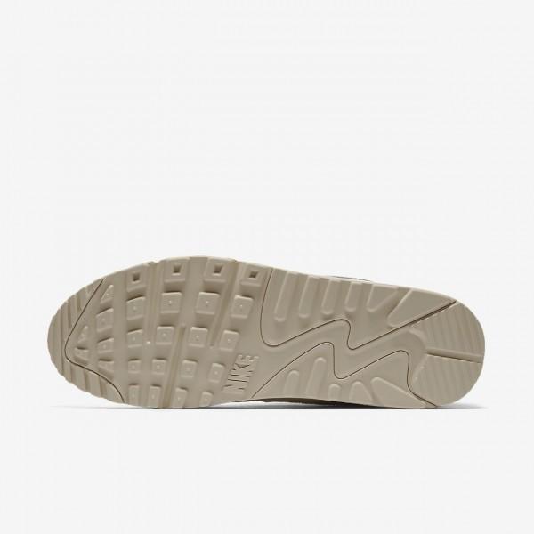 Nike Air Max 90 Essential Freizeitschuhe Herren Sand Weiß 485-62296