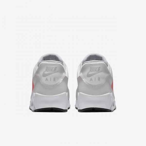 Nike Air Max 90 Big Logo Freizeitschuhe Herren Grau Hellrot 423-68615