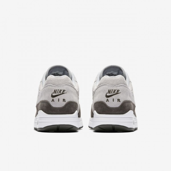 Nike Air Max 1 Premium Sc Freizeitschuhe Herren Grau Tiefes Grau Weiß 696-76698
