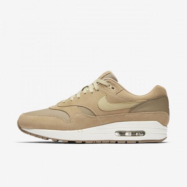 Nike Air Max 1 Premium Freizeitschuhe Herren Khaki...