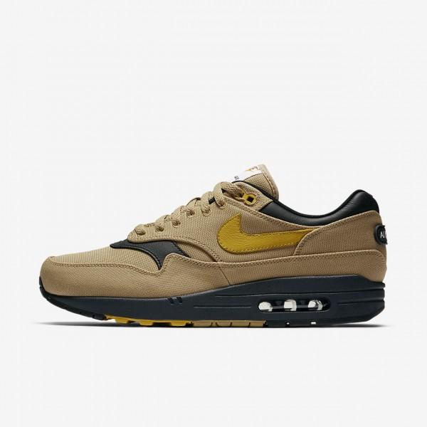 Nike Air Max 1 Premium Freizeitschuhe Herren Gold ...
