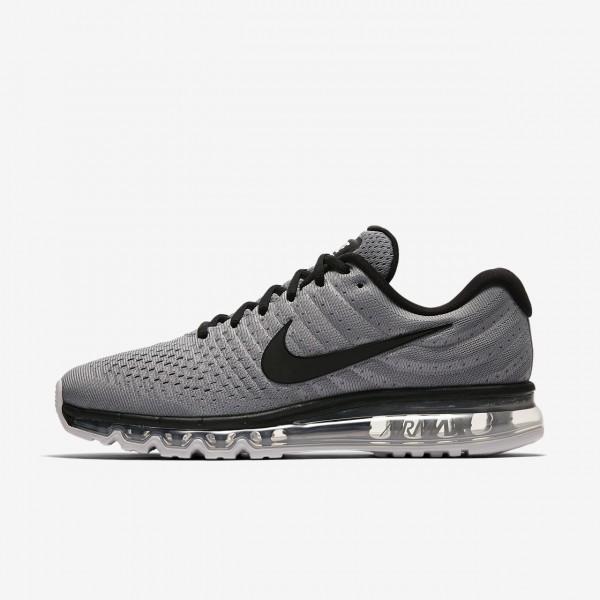 Nike Air Max 2017 Laufschuhe Herren Grau Platin Sc...