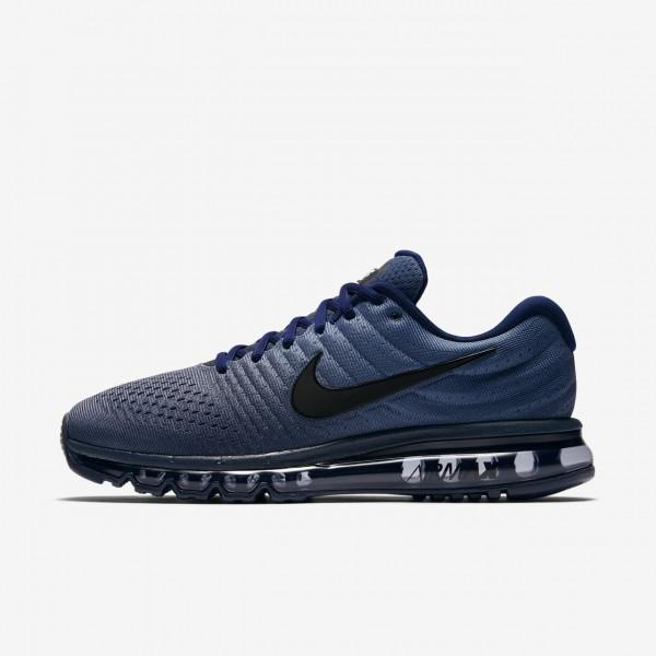 Nike Air Max 2017 Laufschuhe Herren Blau Obsidian ...