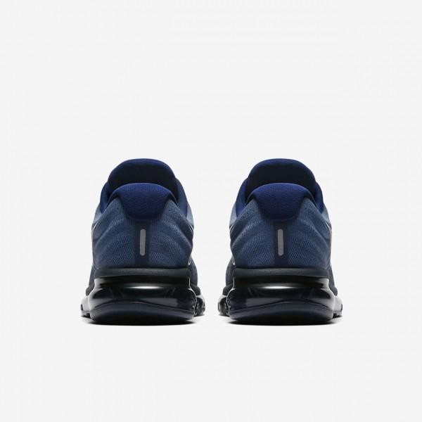 Nike Air Max 2017 Laufschuhe Herren Blau Obsidian Schwarz 833-71571