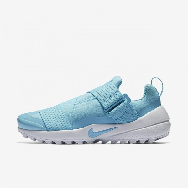 Nike Air Zoom Gimme Golfschuhe Damen Blau Weiß 332-58046