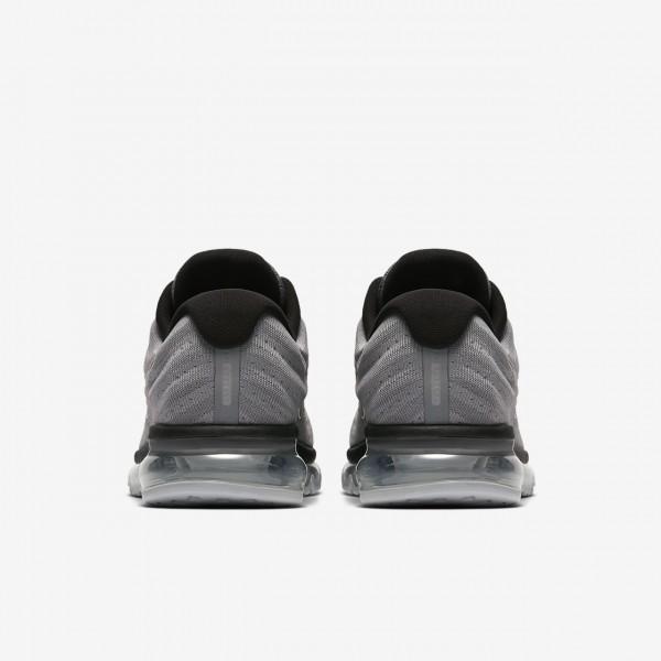 Nike Air Max 2017 Laufschuhe Herren Grau Platin Schwarz 198-38776