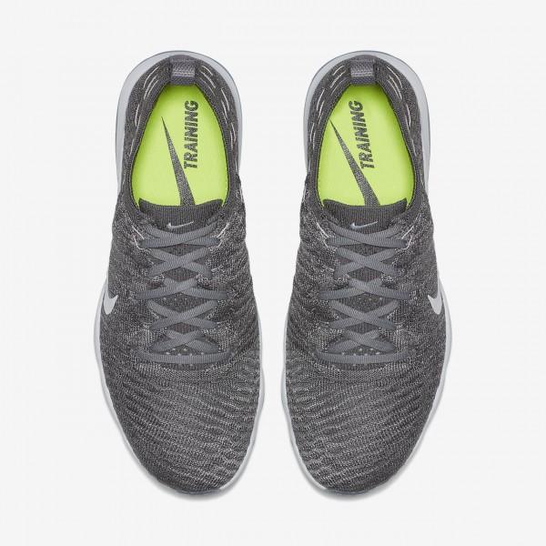 Nike Air Zoom Fearless Flyknit Lux Trainingsschuhe Damen Weiß Grau 608-71777