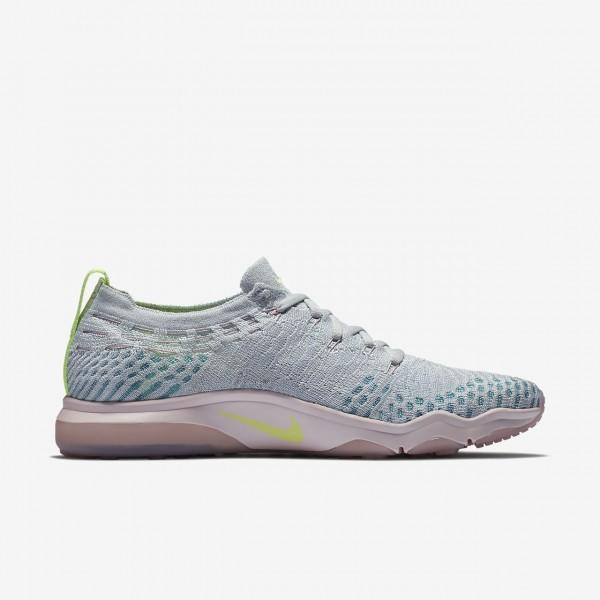 Nike Air Zoom Fearless Flyknit Lux Trainingsschuhe Damen Platin Rosa Schwarz 381-40969