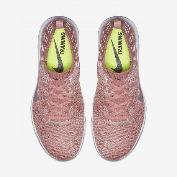 Nike Air Zoom Fearless Flyknit Lux Trainingsschuhe Damen Pink Weiß 709-86146