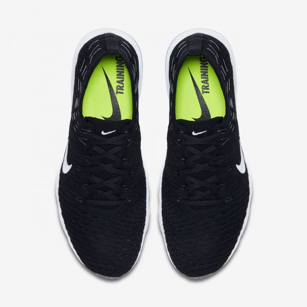 Nike Air Zoom Fearless Flyknit Lux Trainingsschuhe Damen Schwarz Weiß 280-93101