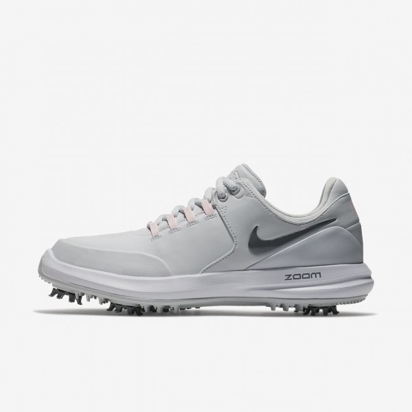 Nike Air Zoom Accurate Golfschuhe Damen Platin Pin...