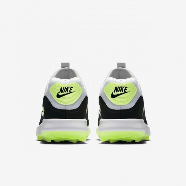 Nike Air Zoom 90 It Golfschuhe Damen Weiß Grau Schwarz 933-32258