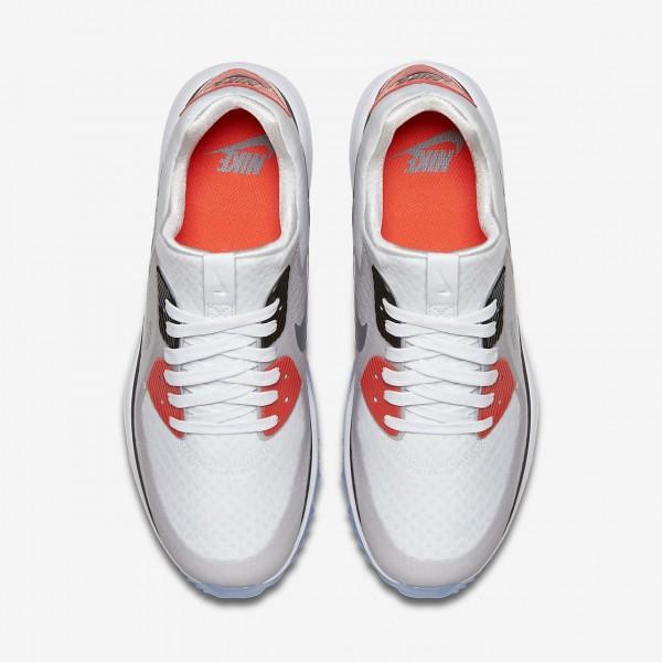 Nike Air Zoom 90 It Golfschuhe Damen Weiß Grau Schwarz 777-93466