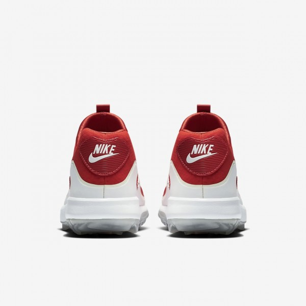Nike Air Zoom 90 It Golfschuhe Damen Orange Weiß 254-35018