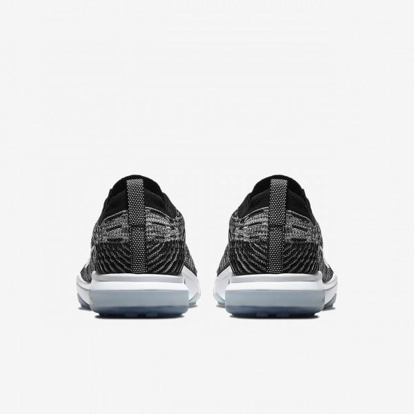 Nike Air Zoom Fearless Flyknit Lux Trainingsschuhe Damen Schwarz Grau Weiß 567-74285
