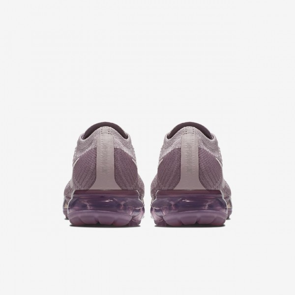 Nike Air Vapormax Flyknit Laufschuhe Damen Lila Rosa 884-40154