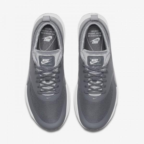 Nike Air Max Thea Lx Freizeitschuhe Damen Weiß Grau 573-21863