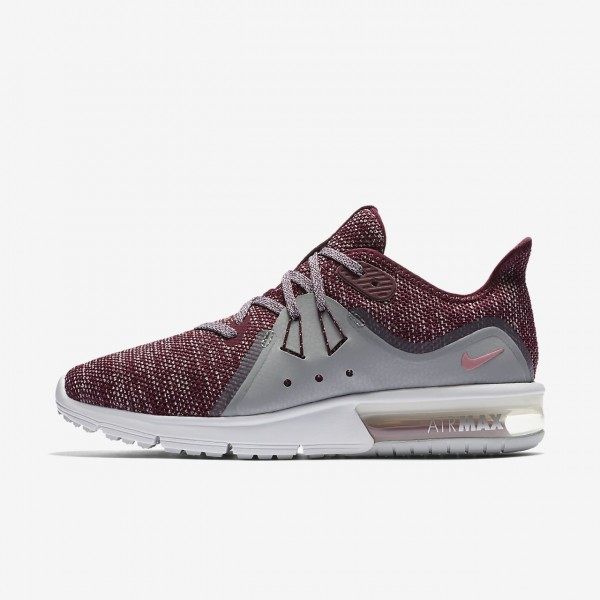 Nike Air Max Sequent 3 Laufschuhe Damen Bordeaux G...