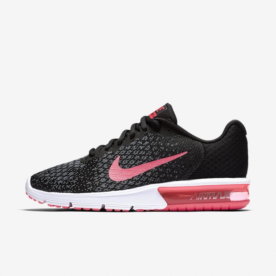 nike air max schwarz grau pink
